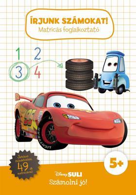 Írjunk számokat! - matricás foglalkoztató - Disney Suli - Számolni jó!