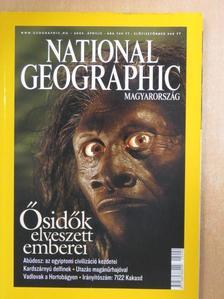 Burt Rutan - National Geographic Magyarország 2005. április [antikvár]