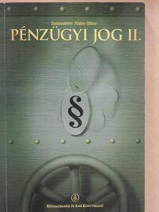 Bodnár Zoltán - Pénzügyi jog II. [antikvár]