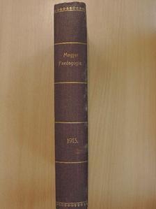 Ballai Károly - Magyar Paedagogia 1913/1-10. [antikvár]