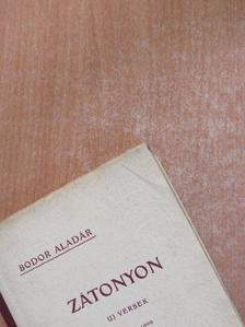 Bodor Aladár - Zátonyon [antikvár]