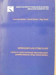Csecserits Imréné - Módszertani útmutató a helyi és helyi kisebbségi önkormányzatok gazdálkodásának átfogó ellenőrzéséhez [antikvár]