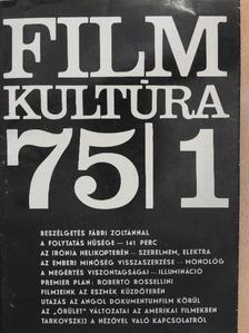 Almási Miklós - Filmkultúra 1975. január-február [antikvár]