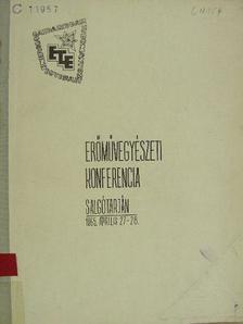 Chovanec Tibor - Erőművegyészeti Konferencia [antikvár]