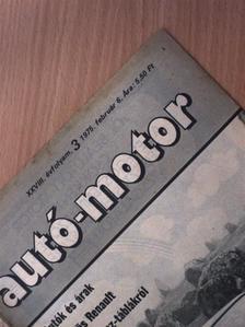 Forró Tamás - Autó-Motor 1975. február 6. [antikvár]