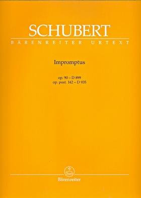 Franz Schubert - IMPROMPTUS OP.90 - D 899, OP.POST.142 - D 935 FÜR KLAVIER URTEXT (WALTHER DÜRR / MARIO ASCHAUER)