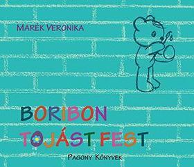 MARÉK VERONIKA- - Boribon tojást fest