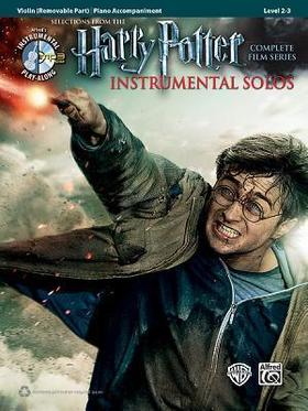 HARRY POTTER. SELECT. FROM THE CPLT FILM SEIRES. ISNTR. SOLOS VIOLIN PLAY ALONG + CD / PIANO ACC.