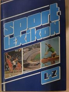 Antal Zoltán - Sportlexikon II. (töredék) [antikvár]