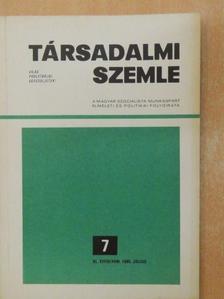 Csikós József - Társadalmi Szemle 1985. július [antikvár]