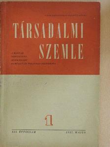 Baranyi Gyula - Társadalmi Szemle 1957. május [antikvár]
