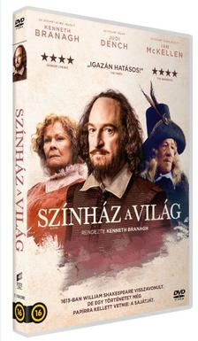 KENNETH BRANAGH - Színház a világ - DVD
