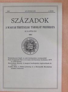 Agárdi Péter - Századok 1993/2. [antikvár]