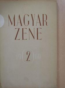 Forrai Miklós - Magyar Zene 1960/2. [antikvár]
