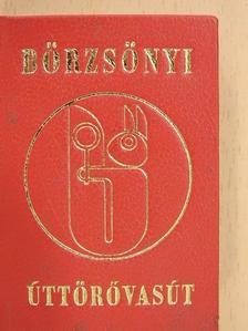 Csitári János - Börzsönyi úttörővasút (minikönyv) [antikvár]
