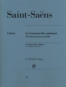 SAINT -SAENS - LE CARNAVAL DES ANIMAUX FÜR KAMMERENSEMBLE (ERNST-GÜNTER HEINEMANN)