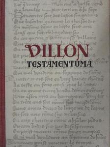 Francois Villon - Villon testamentuma [antikvár]