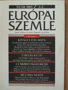 Alfred Payrleitner - Európai Szemle 2003. nyár [antikvár]