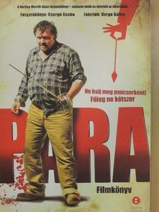 Varga Bálint - Para - Filmkönyv [antikvár]