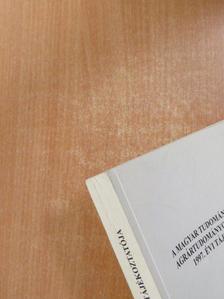 Dohy János - A Magyar Tudományos Akadémia Agrártudományok Osztályának 1997. évi tájékoztatója [antikvár]