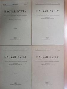 Antal László - Magyar nyelv 1964/1-4. [antikvár]