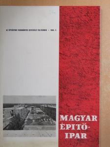 Balogh Gyula - Magyar Építőipar 1969/3. [antikvár]