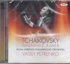 Tchaikovsky - SYMPHONIES 3, 4 AND 6 2CD VASILY PETRENKO