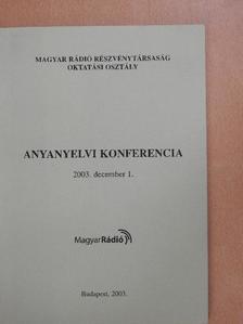 Balassi Bálint - Anyanyelvi konferencia [antikvár]