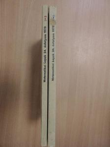 A. Robinson - Matematikai Lapok 1973/1-4. [antikvár]
