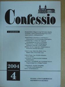 Balázs Ildikó - Confessio 2004/4. [antikvár]