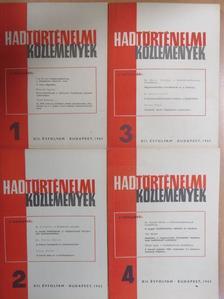 A. M. Szagyilenko - Hadtörténelmi Közlemények 1965/1-4. [antikvár]