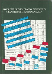 Ibolya Vogler - Korszerű üzemgazdasági módszeres a bankreform szolgálatában [antikvár]