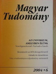 Boros János - Magyar Tudomány 2004. június [antikvár]