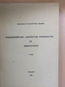Biró György - Közegészségtani-járványtani gyakorlatok és bemutatások I. [antikvár]