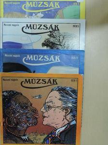 Cenner Mihály - Múzsák 1979/1-4. [antikvár]