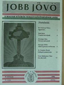 Bend Jenő - Jobb Jövő 1996. június [antikvár]