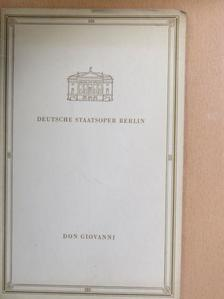 Wolfgang Amadeus Mozart - Don Giovanni [antikvár]