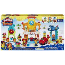 Play-Doh 3 az 1-ben városcenter gyurmaszett