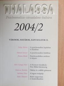Bakó Tihamér - Thalassa 2004/2. [antikvár]