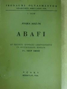 Jósika Miklós - Abafi [antikvár]