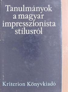 Brauch Magda - Tanulmányok a magyar impresszionista stílusról [antikvár]