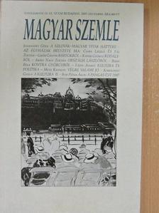 Abádi Nagy Zoltán - Magyar Szemle 2007. december [antikvár]