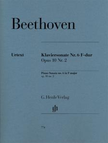 BEETHOVEN - KLAVIERSONATE NR.6 F-DUR OP.10 NR.2 (GEERTSCH / PERAHIA)