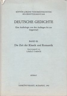 Tarnói László - Deutsche Gedichte III. [antikvár]