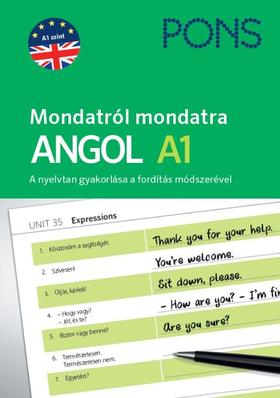 Magdalena Filak, Filip Radej - PONS Mondatról mondatra Angol A1
