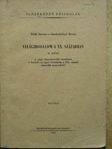 Szederkényi Ervin - Világirodalom a XX. században II. [antikvár]