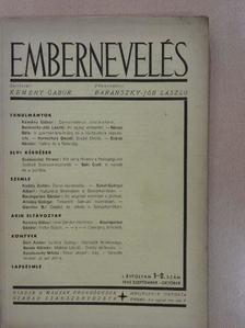 Almásy György - Embernevelés 1945. szeptember-október [antikvár]