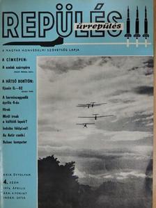 Szentesi György - Repülés-űrrepülés 1976. április [antikvár]