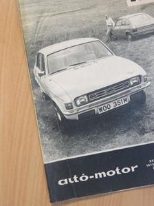 Dékán György - Autó-Motor 1973. december 6. [antikvár]