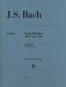 J. S. Bach - SECHS PARTITEN BWV 825-830 (U. SCHNEIDER / FINGERSATZ: WILLIAM YOUN)